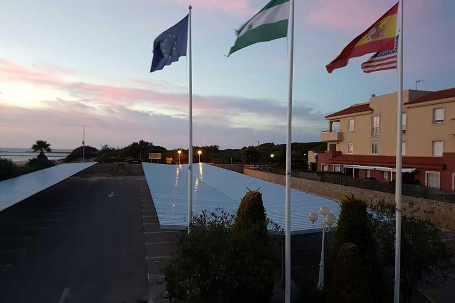 vista hotel - Cubiertas de Chapa Grecada